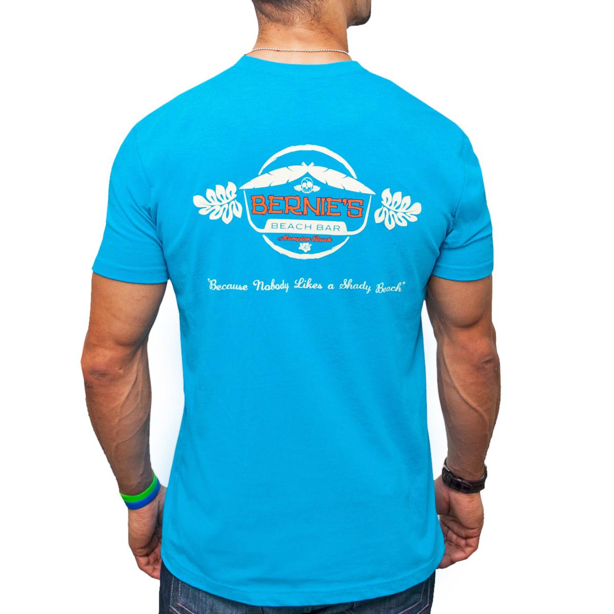 Bernie S Logo T Shirt Bernie S Beach Bar Hampton Beach Nh
