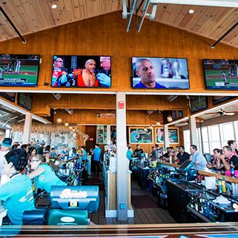 Huge Sports Bar